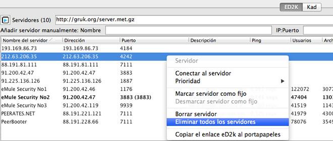 Amule en Mac 3